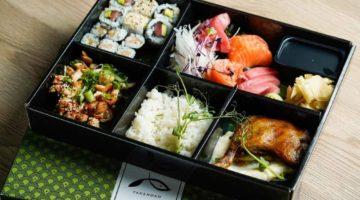 Takenoko personalizirana kutija hrane s japanskim speijalitetima