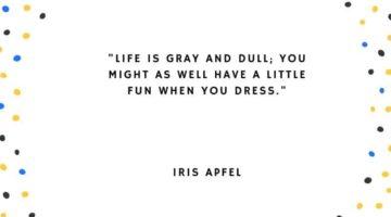 Iris Apfel citat