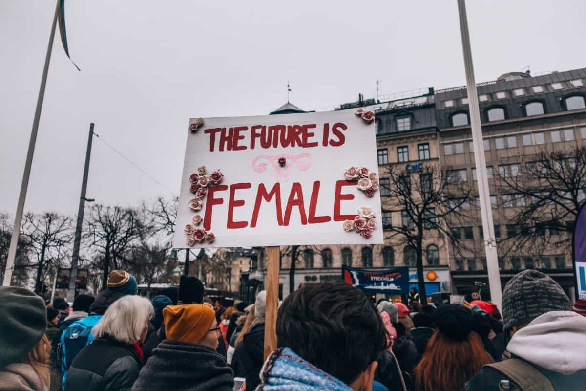 Plakat The future is female