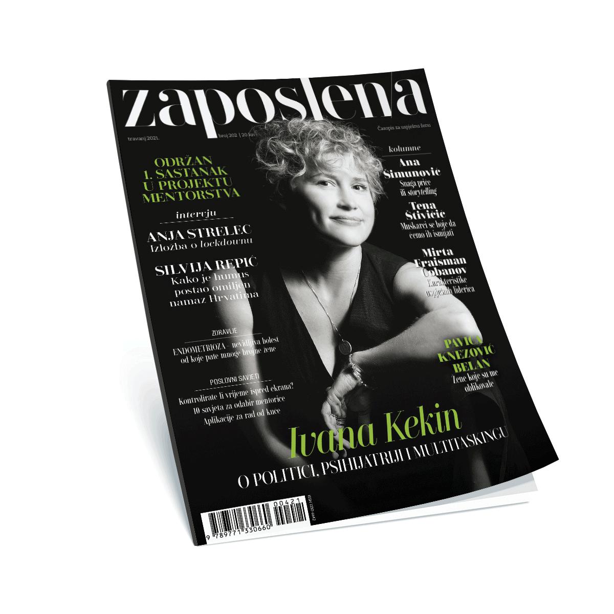 Časopis Zaposlena cover 202. broj